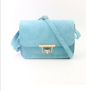 Handbags - Twist Lock Flap Crossbody Bag